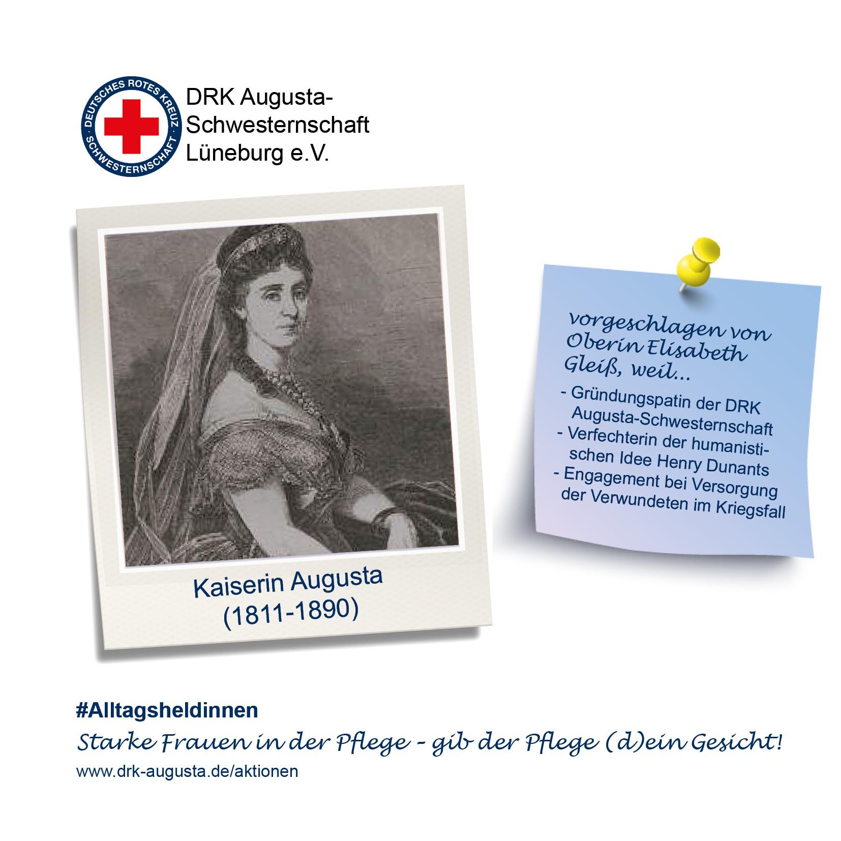 Nominierung Kaiserin Augusta
